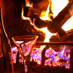 wine and fire