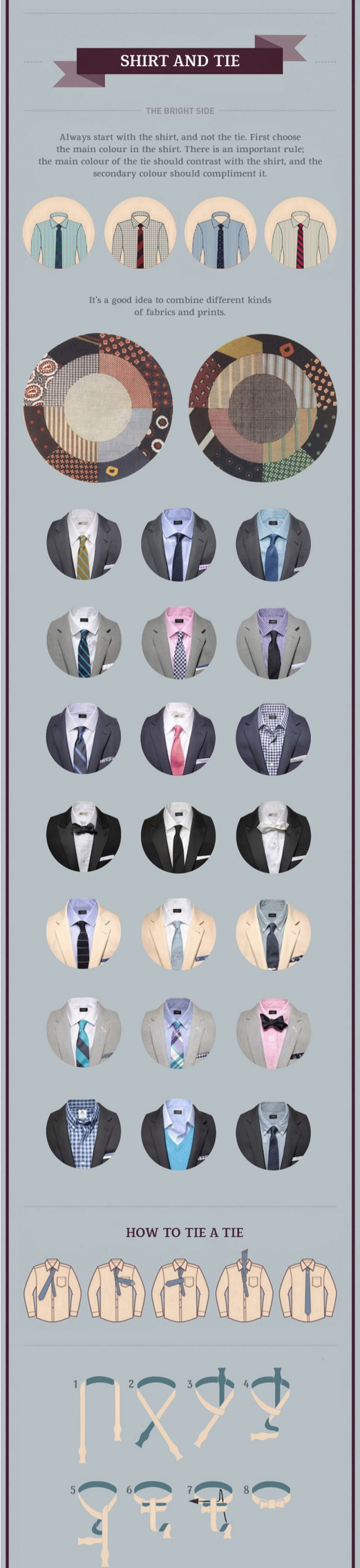How to Wear a Suit: Shirt and Tie