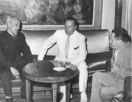 Stevan_Kragujevic_Ho_Chi_Minh_Josip_Broz_Tito_and_Edvard_Kardelj_Beograd_avgust_1957