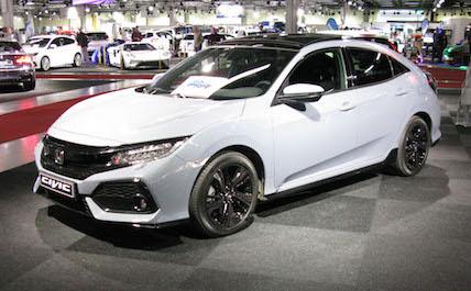Honda white