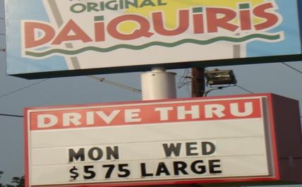 Daiquiri drive-through