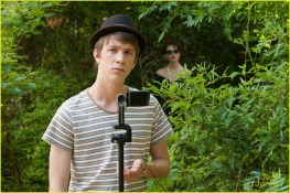 Link (Thomas Mann) with Ridley (Emmy Rossum) in the back