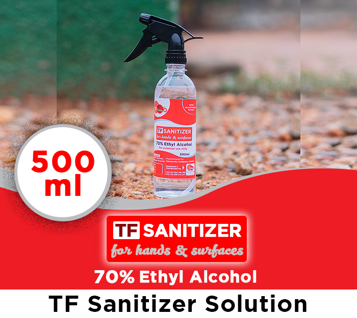 TF Sanitizer Sol 500ml_TFHOGhana_web