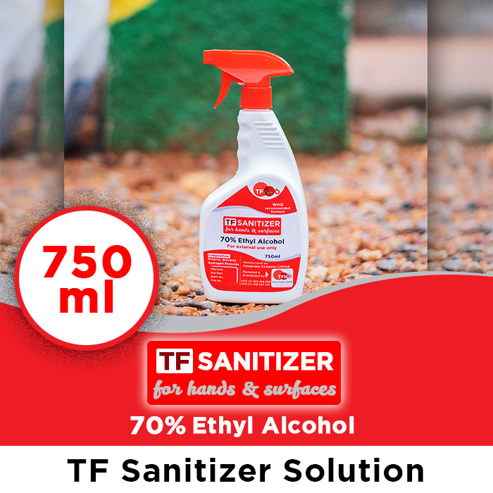 TF Sanitizers Sol 750ml_TFHO Ghana web