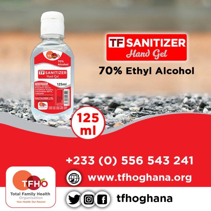 TF Sanitizers Gel 125ml_TFHOGhana_web
