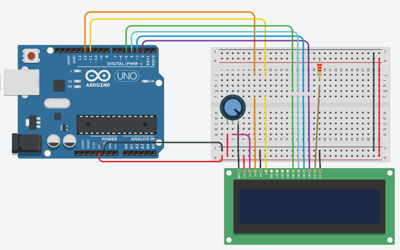 objects (via micro controllers)