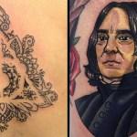 Beautiful Slytherin Tattoos
