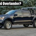 New Ford F 150 Hybrid Overland Truck Sema Build The Fast Lane Truck