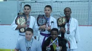 Teen Naga BJJ Grappling Champion