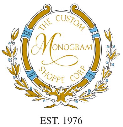 custom monogram shoppe logo