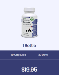 An image of one bottle of immune complex
