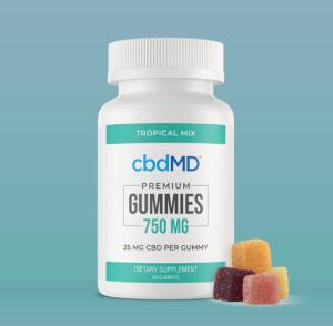 An image of CBD Gummies 750 mg - 30 count