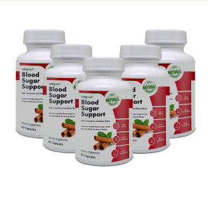 An Image of Blood Sugar Support Review - 5 Bottles