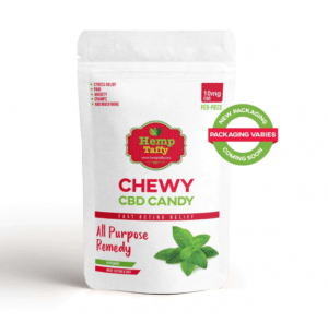 An image of CBD Candy - Mint Chewy Edible