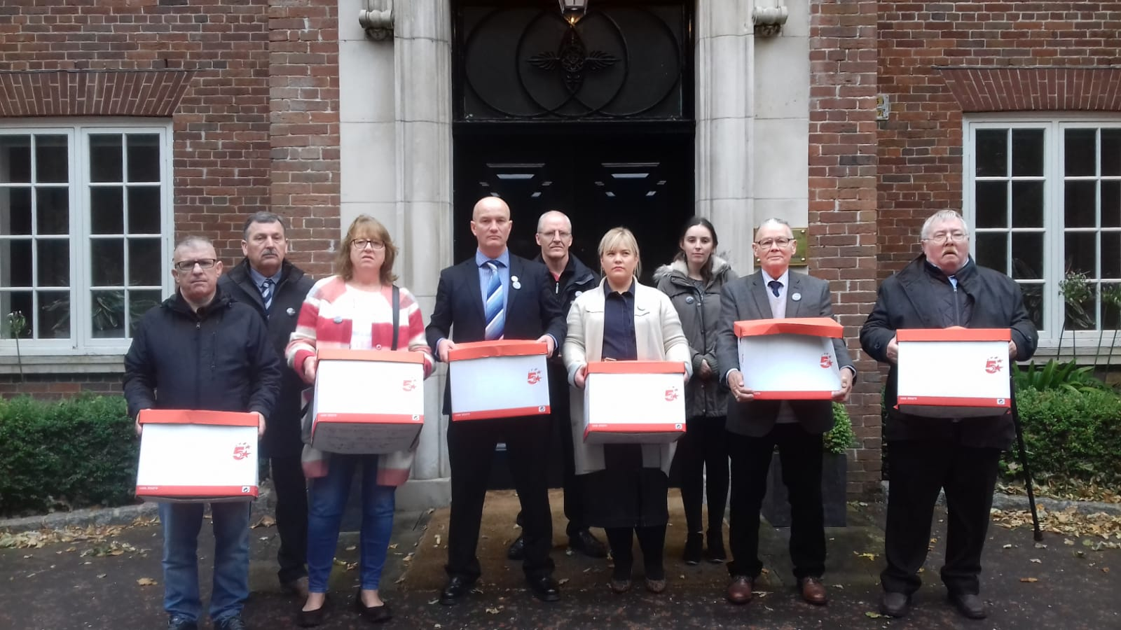 Time for Truth Campaign at Stormont House