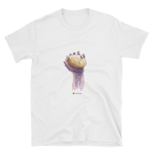 Lâche pas la patate (hang in there) Unisex T-Shirt