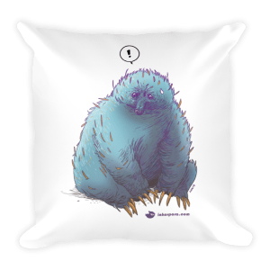 Valiant Steed Square Pillow