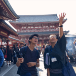 Collecting goshuin in ASAKUSA(November 11)