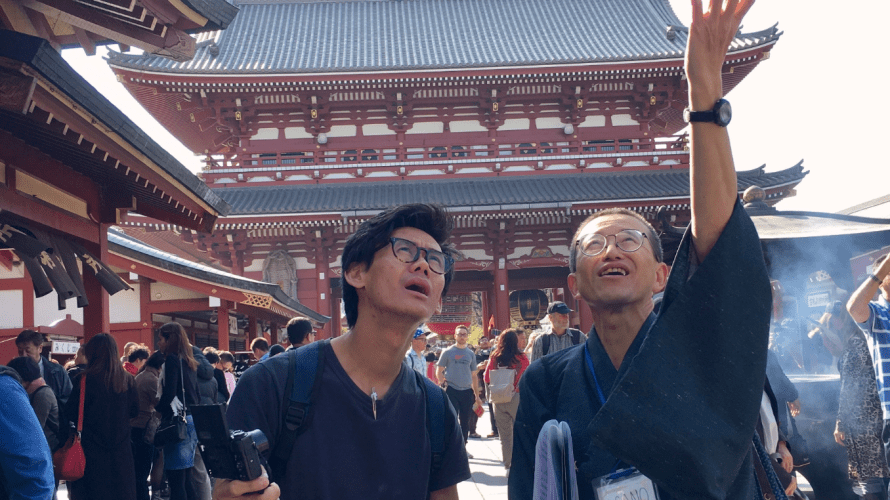 Tour Report on 19 March 2018, Asakusa