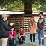 TOUR REPORT ON APRIL 1, 2018 AT MEIJI JINGU SHRINE AND HARAJUKU