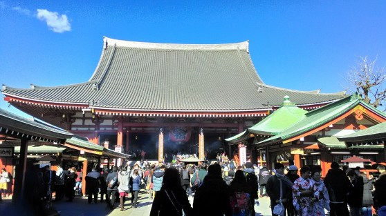 Sensoji Buddhist Temple Main Hall