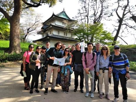 4月6日B集合富士見櫓