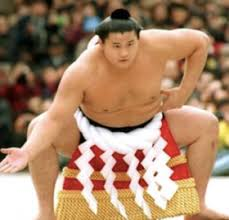 A great sumo wrestler in Heisei era