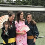 ENJOYED CHATTING IN RAINY DAY REPORTING FROM THE EAST GARDENS OF THE IMPERIAL PALACE (JUNE.22)