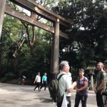 Tour Report for Meji Shrine and Harajuku on September 15th