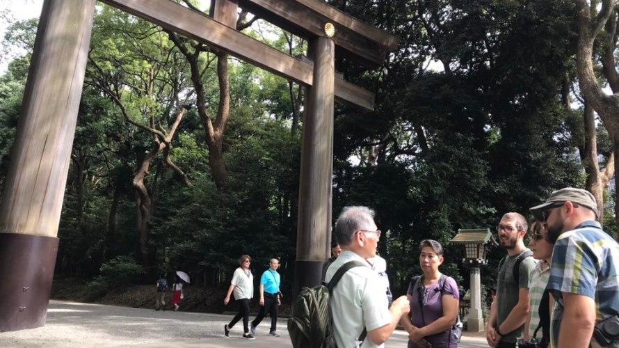 Tour Report for Meji Shrine and Harajuku on September 15th