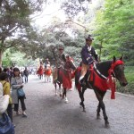Tour Report on Dec. 1th at the Meiji shrine and Harajuku