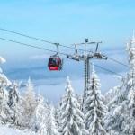スキーリゾートの画像