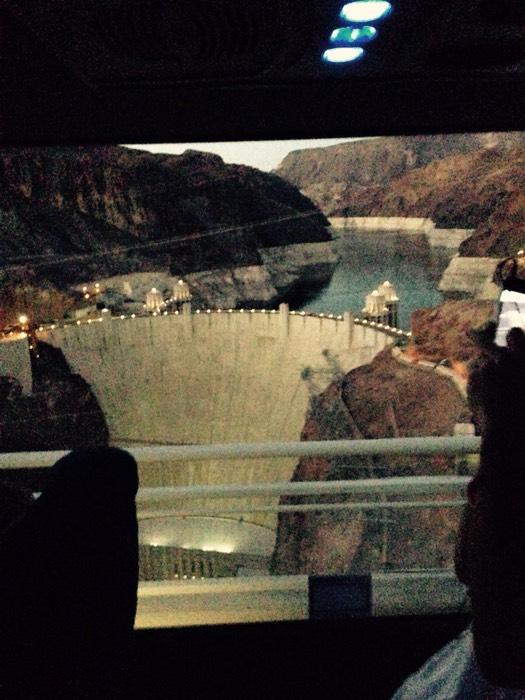 グランドキャニオンを作ったコラロド川に架かる、フーバーダム。