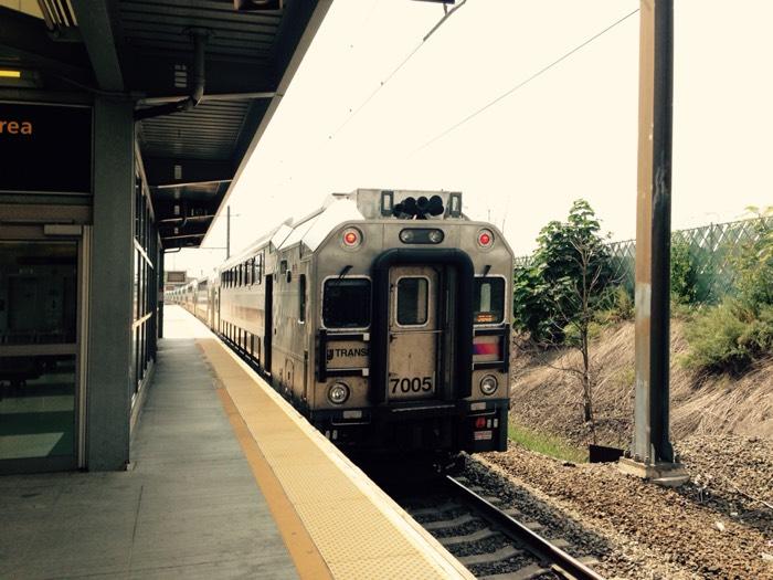 鉄道 in ニューヨーク。