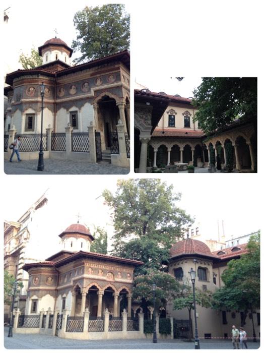 ブカレストのスタヴロポレオス教会。