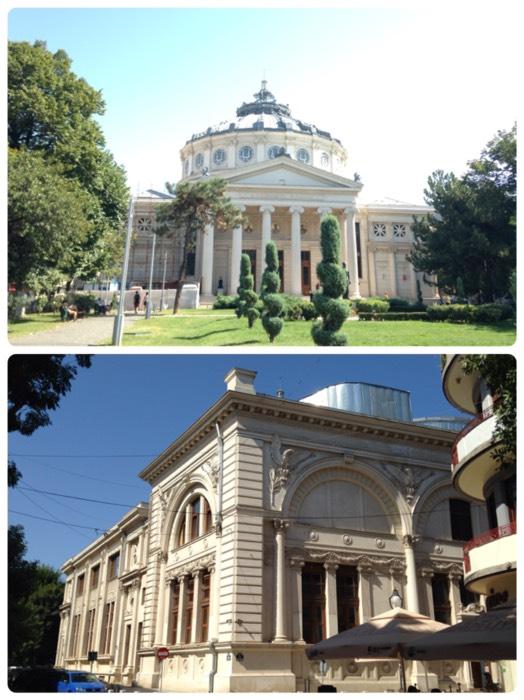 ブカレストのアテネ音楽堂。