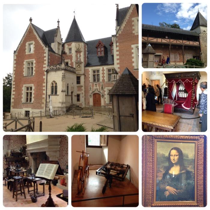 ダ・ヴィンチが過ごした、ル・クロ・リュセ城。