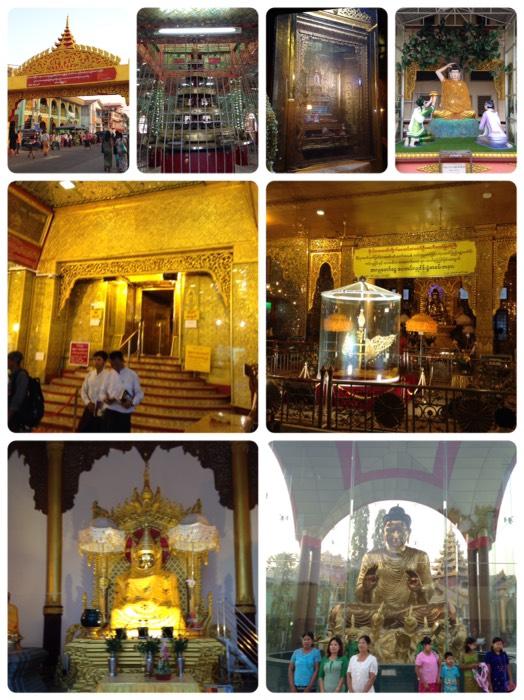 ヤンゴンのボウタタウン・パゴダ。