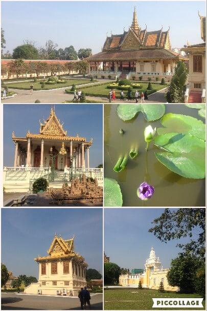 カンボジア王宮