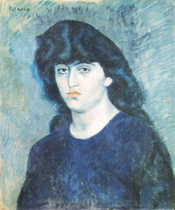 シュザンヌ・ブロックの肖像 パブロ・ピカソ