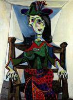 ドラ・マールの肖像 パブロ・ピカソ