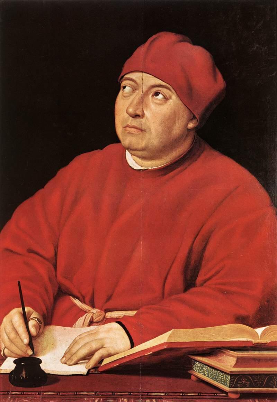 トンマーゾ・インギラーミ伯爵の肖像 ラファエッロ・サンツィオ