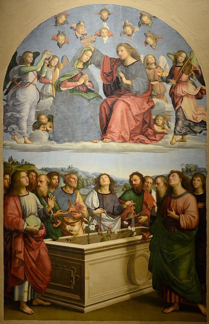 聖母の戴冠 ラファエッロ・サンツィオ