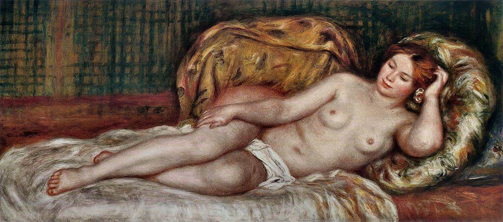 大きな裸婦 ルノワール