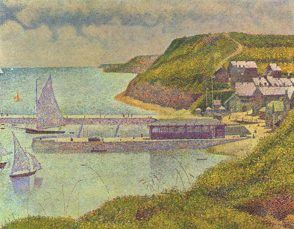 満潮時のポルトアン・ベッシンの港 スーラ