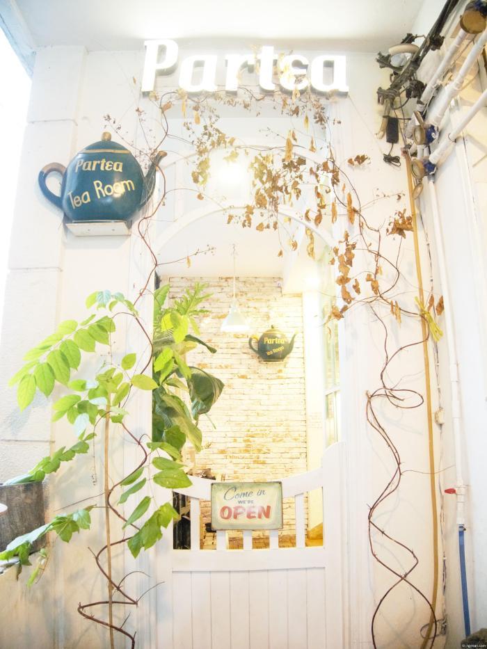 ホーチミンのカフェ「Portea English Tea Room」