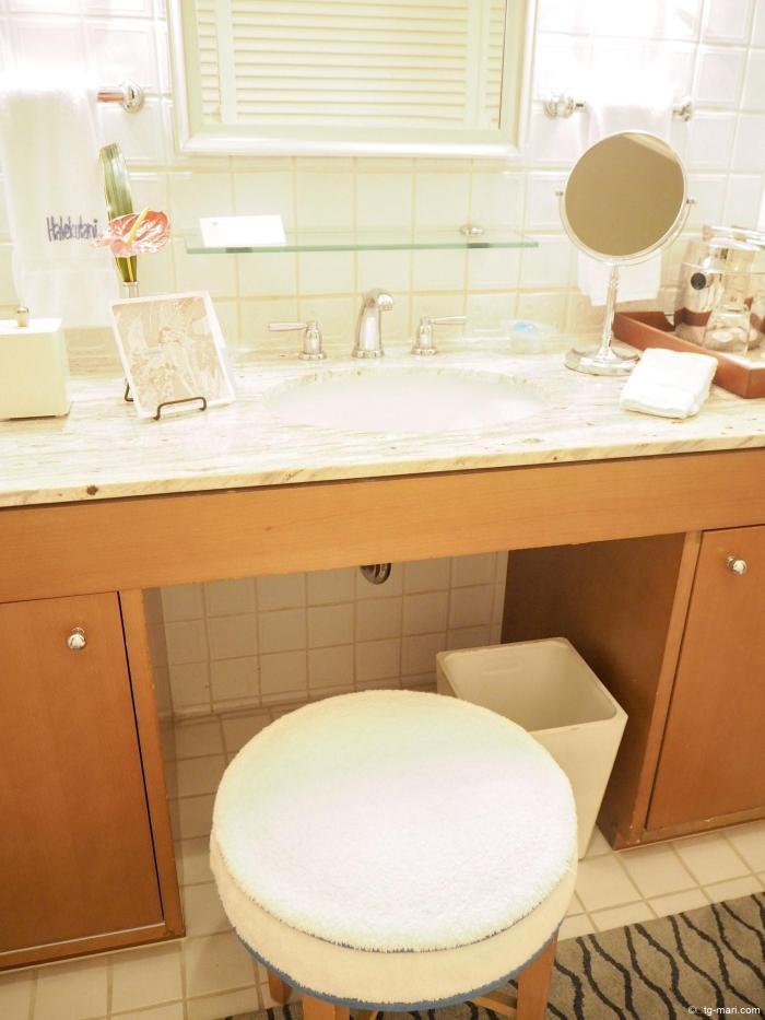 ハレクラニの洗面所