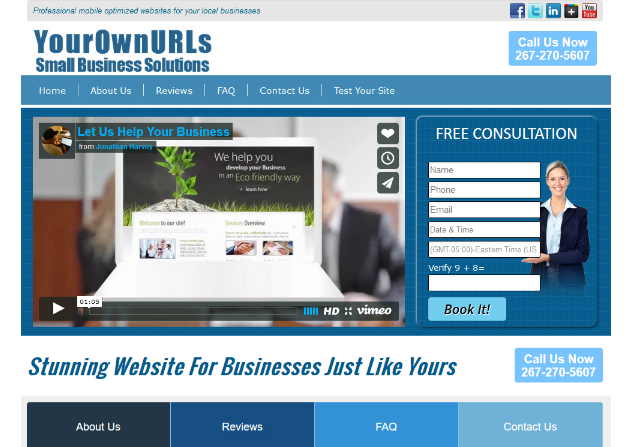 YourOwnURLs Small Business Solutions