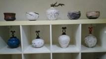 """Raku"" pottery"