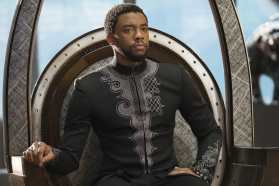 Marvel Studios' BLACK PANTHER T'Challa/Black Panther (Chadwick Boseman) Photo: Matt Kennedy ©Marvel Studios 2018